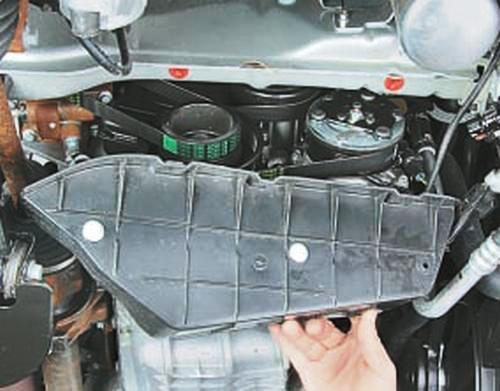 Замена цепи привода газораспределительного механизма двигателя duratec объемом 1,3 л Ford Fusion Fiesta